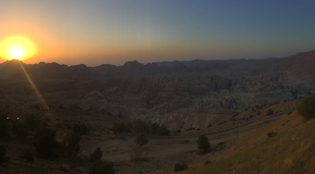 Petra sunset March