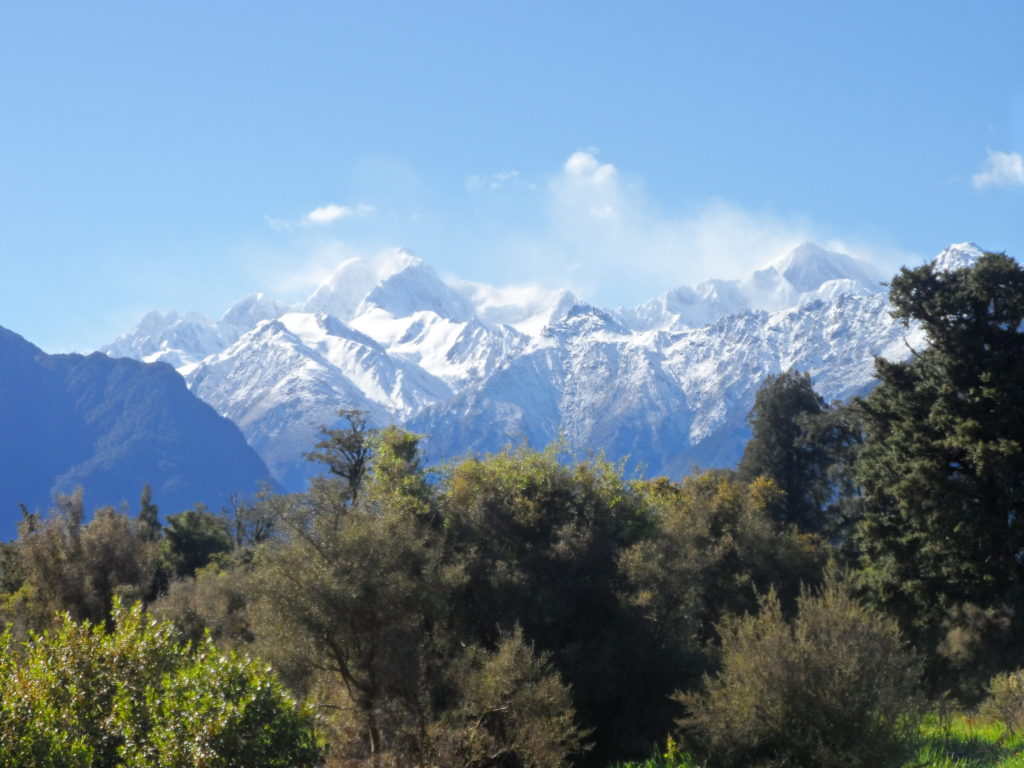 Mt Cook Southern Alps New Zealand
