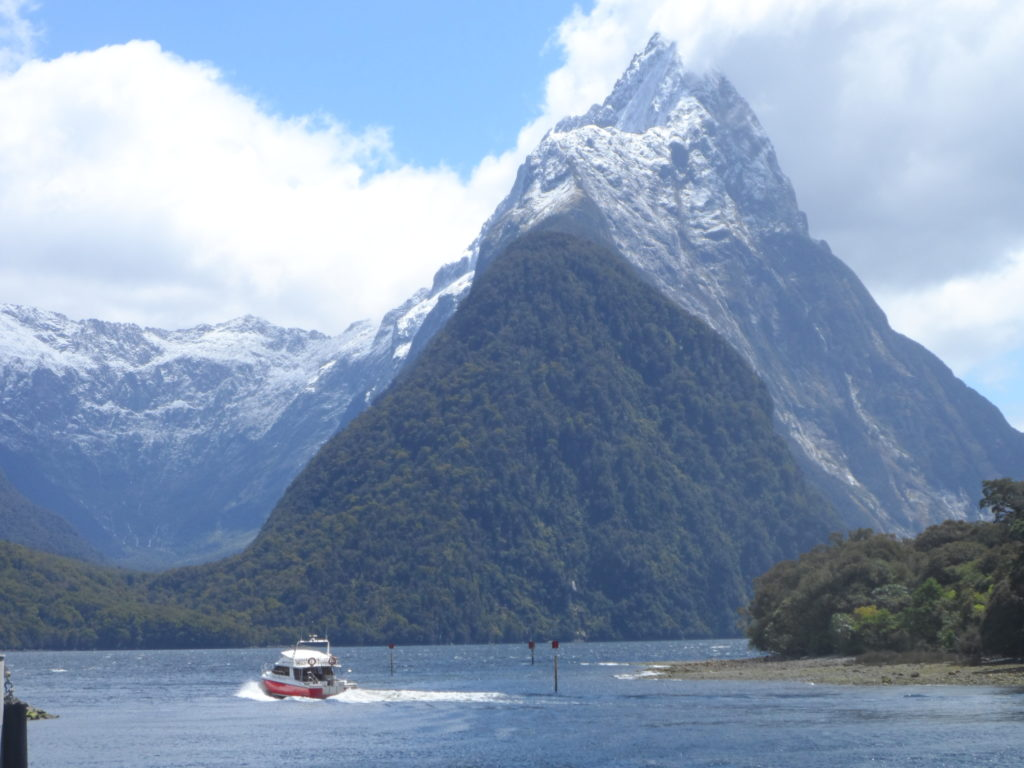 Mitre Peak Milford Sound New Zealand